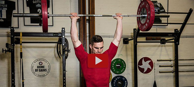 George North workout - play video