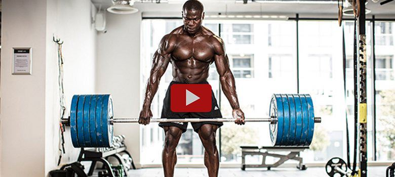 Wole Adesemoye superhero bar challenge - play video