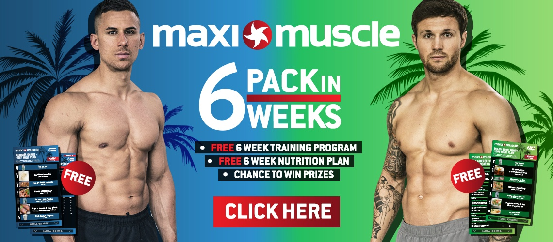 Maximuscle Six Pack In Six Weeks Challenge - Large