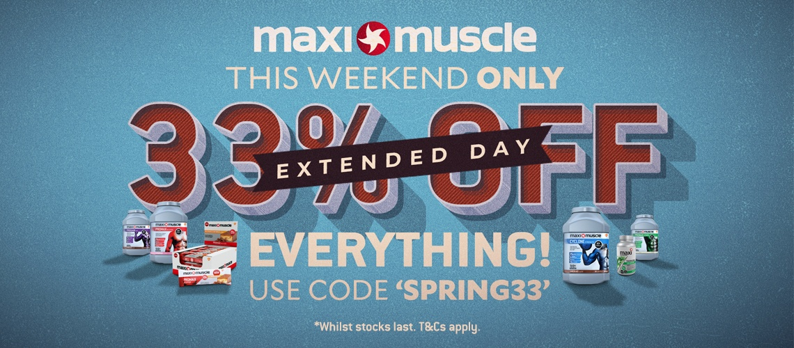 33% Off Bank Holiday Weekend with Spring33