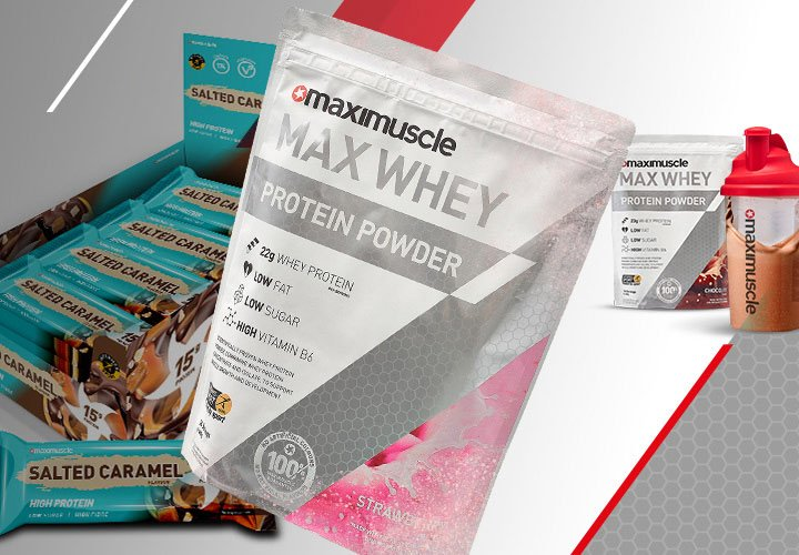 Maximuscle Gym Ready Bundles - Shop Now