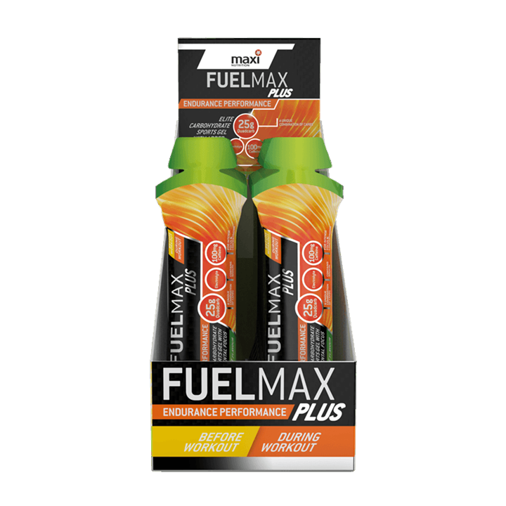 MaxiNutrition Fuelmax Plus Carbohydrate Sports Gel 24 x 70g