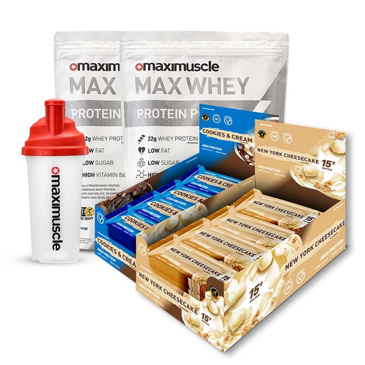 Max Whey 960g Back-to-the-Gym Protein Bundle
