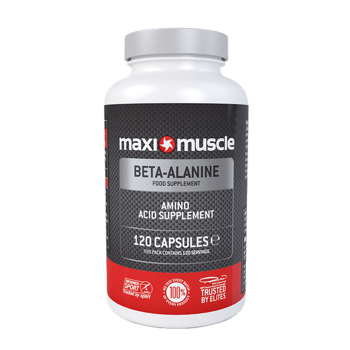Maximuscle Beta-Alanine Amino Acid Supplement Capsules - 120 Pack
