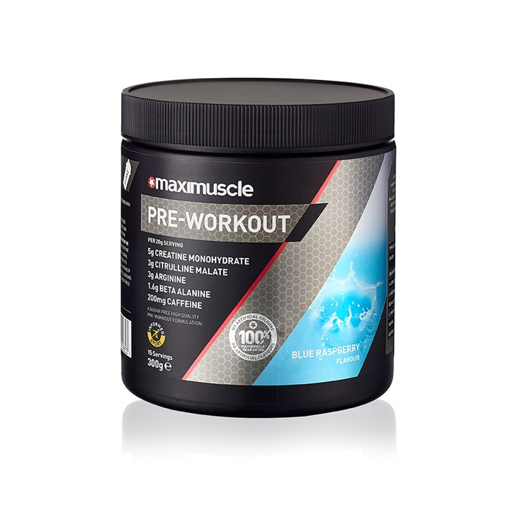 Maximuscle Pre-Workout Powder 300g Pack