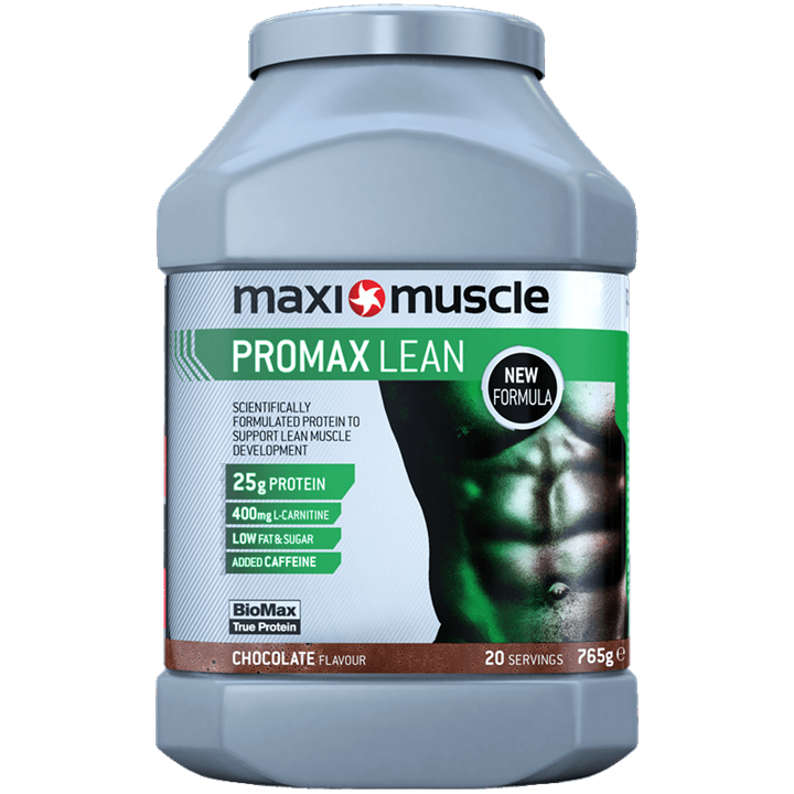 Maximuscle Promax Lean Protein Powder 765g Tub - Chocolate