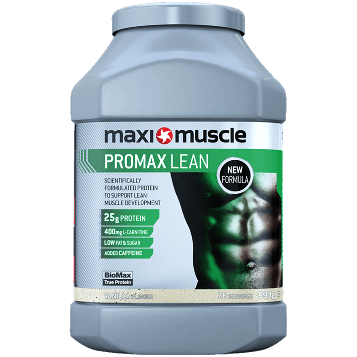 Maximuscle Promax Lean Protein Powder 990g Tub - Vanilla