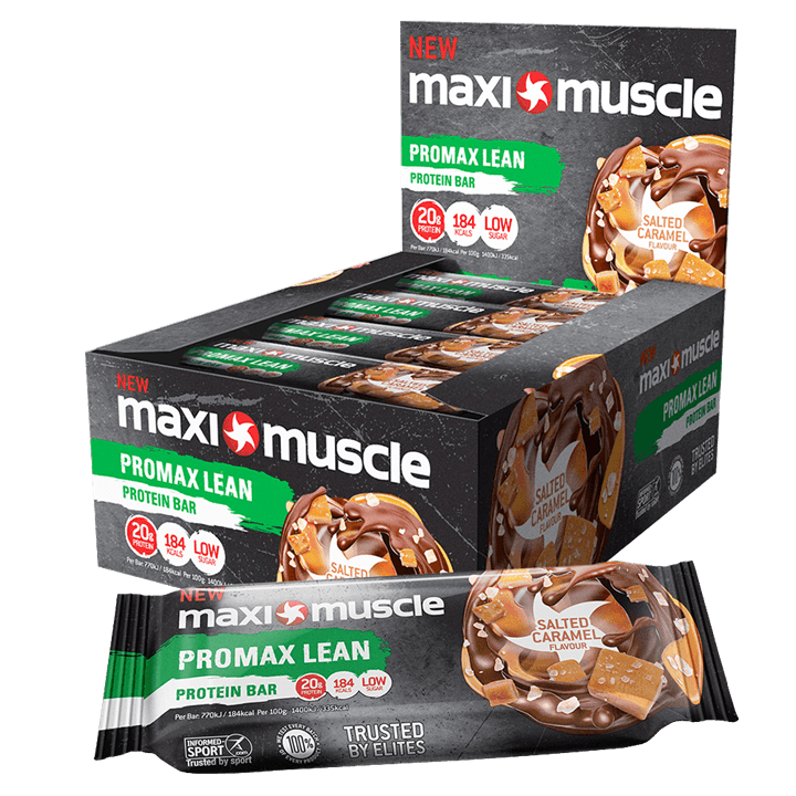 Maximuscle Promax Lean Bars 12x55g