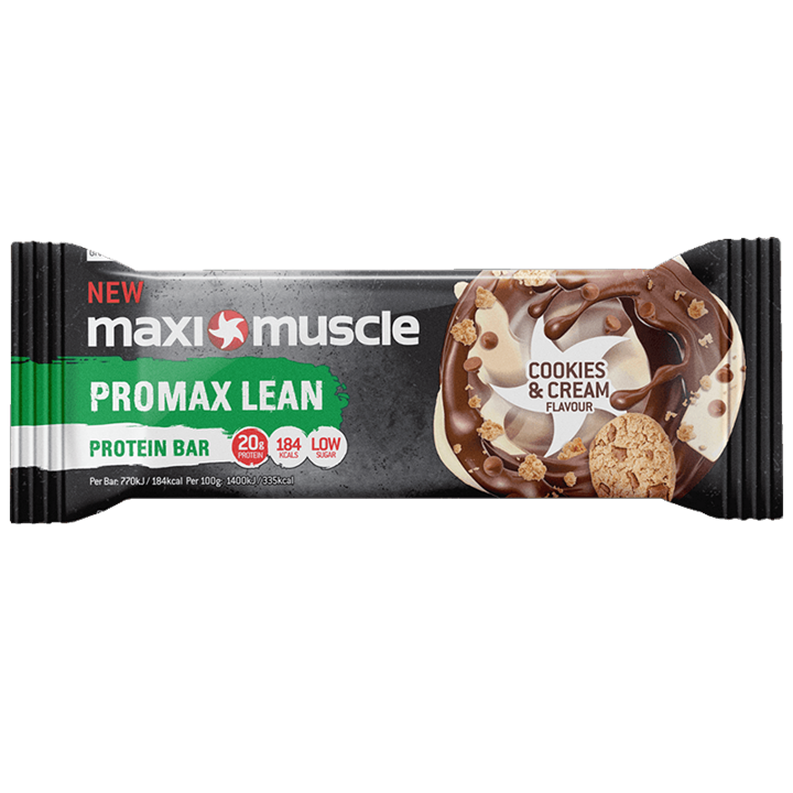 Maximuscle Promax Lean Bar Cookies and Cream 1x55g