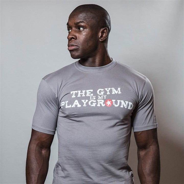 Gym is My Playground Maximuscle T-shirt - XL