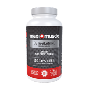 Beta-Alanine Amino Acid Supplement Capsules - 120 Pack