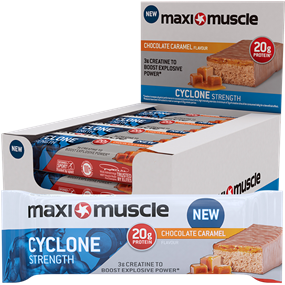 Maximuscle Cyclone Bars 12x60g