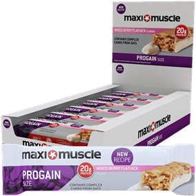 Maximuscle Progain Bars 12x90g