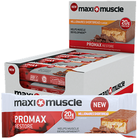 Maximuscle Promax Bars 12x60g