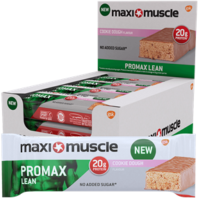 Maximuscle Promax Lean Bars 12x60g