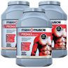 3 x Maximuscle Promax Protein Powder 1.12kg Tubs