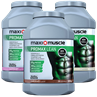 3 x Maximuscle Promax Lean Protein Powder 990g Tubs