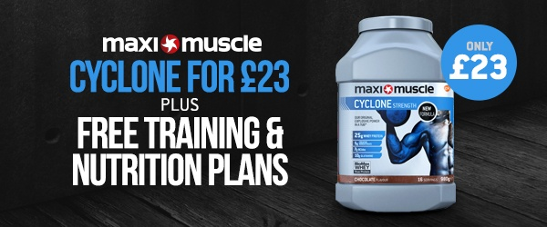 Free plans - plus Cyclone only £23!