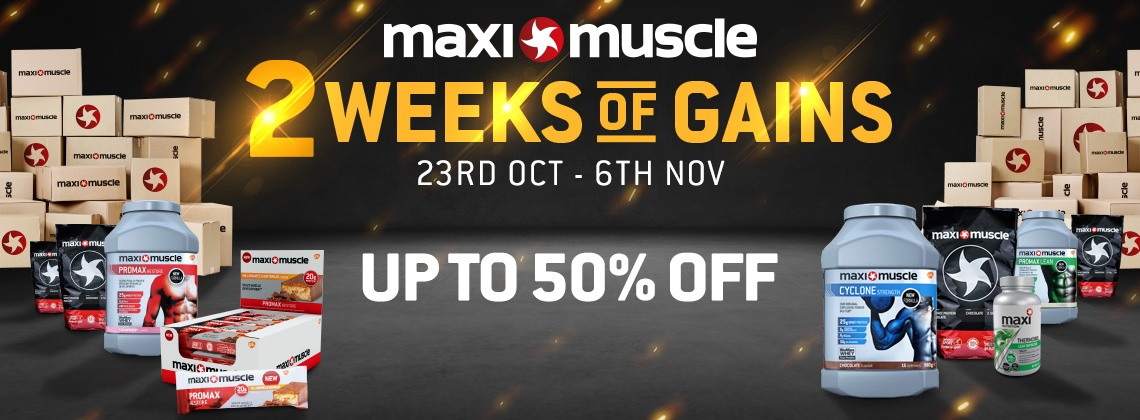 Week of Gains Up to 50% off