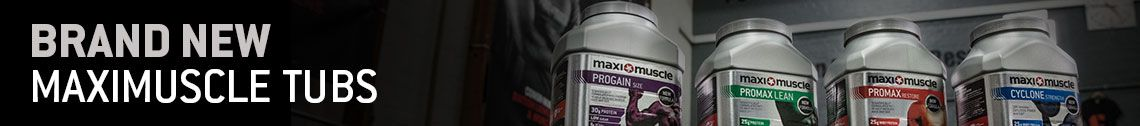 Brand New Maximuscle Tubs - brand new whey protein formulation